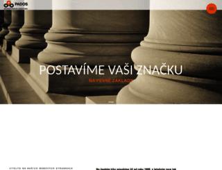 pados.cz screenshot