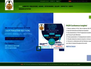 padr.com.pk screenshot