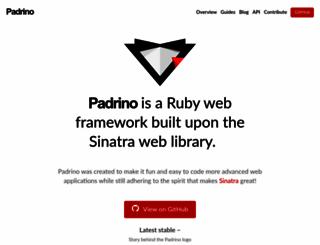 padrinorb.com screenshot