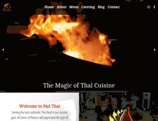 padthaicalgary.com screenshot