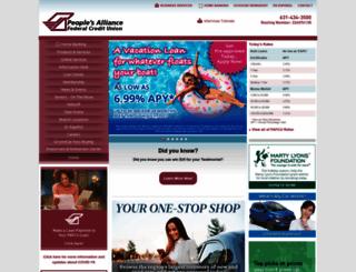 pafcu.org screenshot
