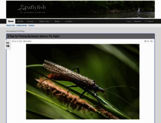 paflyfish.com screenshot