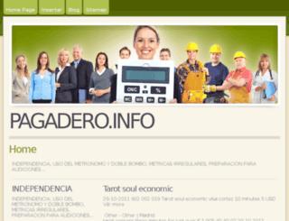 pagadero.info screenshot