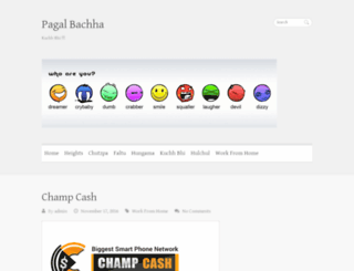 pagalbachha.com screenshot