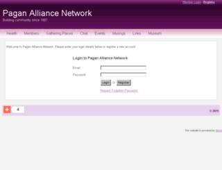 paganalliancenetwork.spruz.com screenshot
