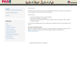 page.eng.it screenshot