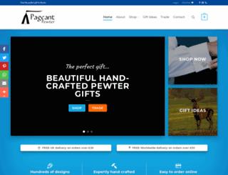 pageantpewter.co.uk screenshot
