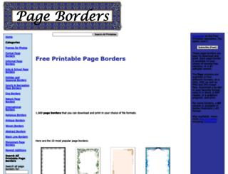 pageborders.net screenshot