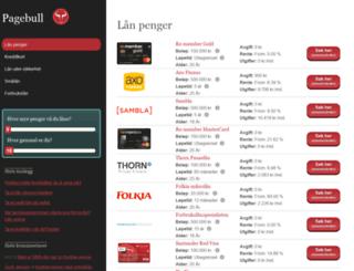 pagebull.com screenshot