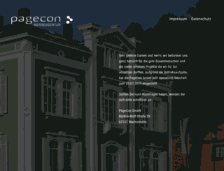 pagecon.com screenshot