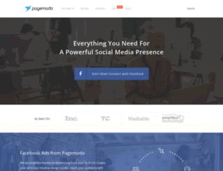 pagemodo.com screenshot