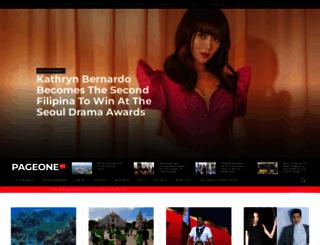 pageone.ph screenshot
