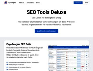 pagerangers.com screenshot