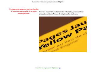 pages-jaunes-algerie.ajout-url.com screenshot