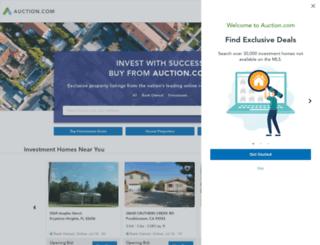pages.auction.com screenshot