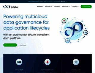 pages.delphix.com screenshot