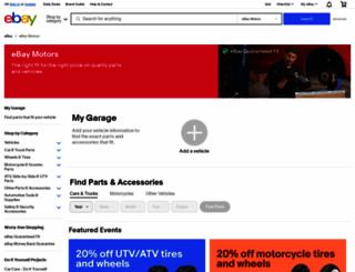 pages.ebaymotors.com screenshot