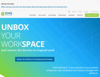 pages.emssoftware.com screenshot