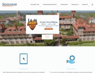 pages.jenzabar.com screenshot