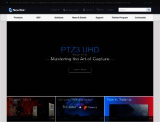 pages.newtek.com screenshot