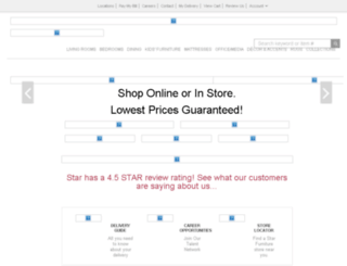 pages.starfurniture.com screenshot