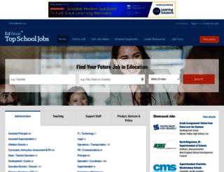 pages.topschooljobs.org screenshot