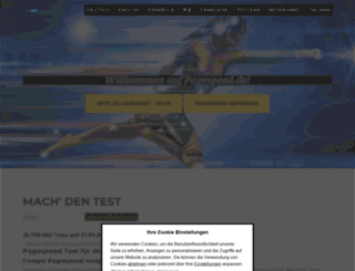 pagespeed.de screenshot