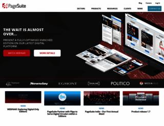 pagesuite.com screenshot