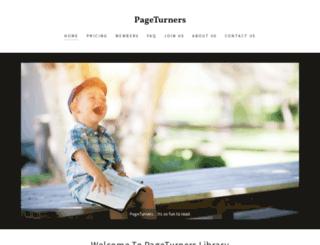 pageturners.in screenshot