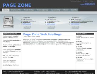 pagezone.eu screenshot