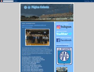 paginaceleste.blogspot.com.ar screenshot