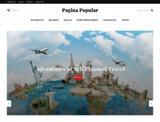 paginapopular.net screenshot