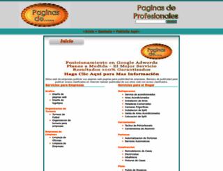paginas-de.com.ar screenshot