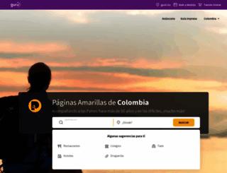paginasamarillas.com.co screenshot