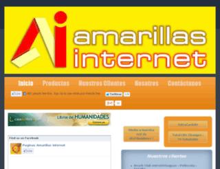 paginasamarillasinternet.biz screenshot