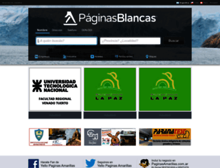 paginasblancas.com.ar screenshot