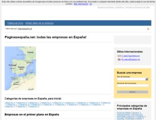 paginasespana.net screenshot
