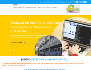 paginaswebmexico.com screenshot