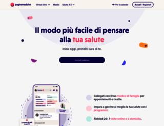 paginemediche.it screenshot