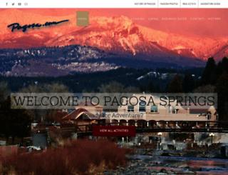 pagosa.com screenshot