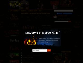pahauntedhouses.com screenshot