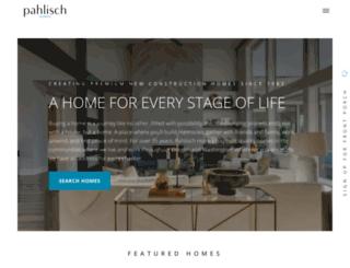 pahlischhomes.com screenshot