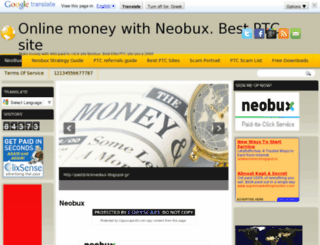 paid2clickneobux.blogspot.gr screenshot