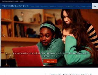paideiaschool.org screenshot