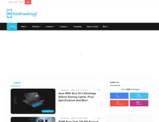 paidfreedroid.com screenshot