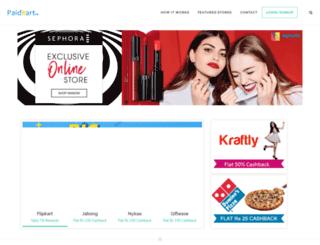 paidkart.com screenshot