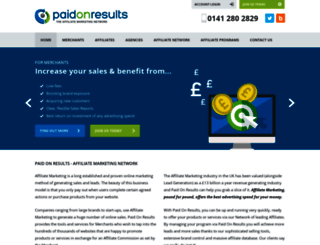 paidonresults.com screenshot