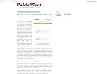 paidopixel.blogspot.mx screenshot