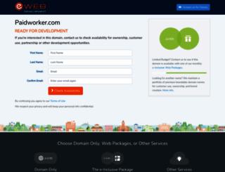 paidworker.com screenshot