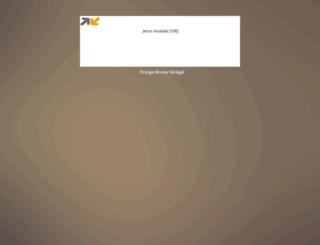 paiementorangemoney.com screenshot